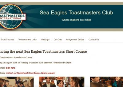 Sea Eagles Toastmasters