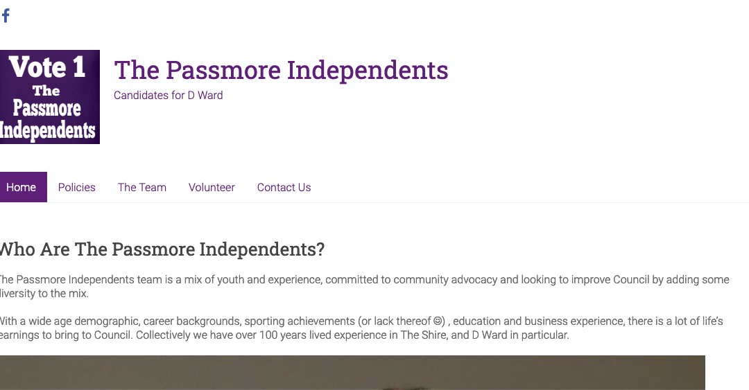 The Passmore Independents